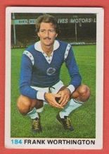 Leicester City Frank Worthington England